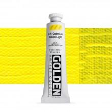 Golden : Heavy Body : Acrylic Paint : 60ml : Pure Cadmium Yellow Light