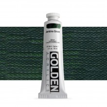 Golden : Heavy Body Acrylic Paint : 60ml : Jenkins Green