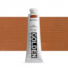 Golden : Heavy Body Acrylic Paint : 60ml : Mars Yellow