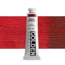 Golden : Heavy Body : Acrylic Paint : 60ml : Naphthol Red Medium