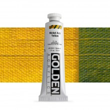 Golden : Heavy Body Acrylic Paint : 60ml : Nickel Azo Yellow
