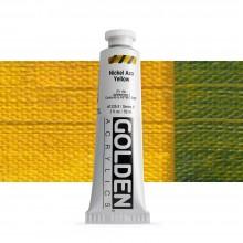 Golden : Heavy Body Acrylic Paint : 60ml : Nickel Azo Yellow