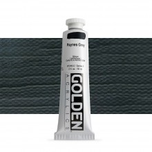 Golden : Heavy Body Acrylic Paint : 60ml : Paynes Grey