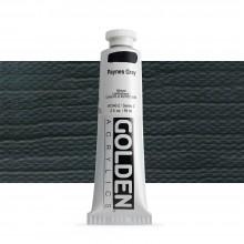 Golden : Heavy Body : Acrylic Paint : 60ml : Paynes Grey