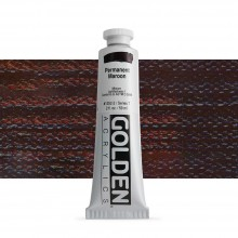 Golden : Heavy Body : Acrylic Paint : 60ml : Permanent Maroon VII New