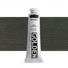 Golden : Heavy Body Acrylic Paint : 60ml : Raw Umber