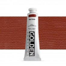 Golden : Heavy Body Acrylic Paint : 60ml : Red Oxide