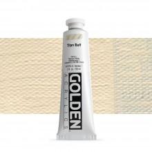 Golden : Heavy Body : Acrylic Paint : 60ml : Titan Buff