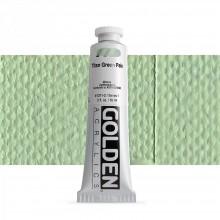 Golden : Heavy Body Acrylic Paint : 60ml : Titan Green Pale I