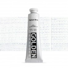Golden : Heavy Body Acrylic Paint : 60ml : Titanium White