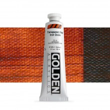 Golden : Heavy Body Acrylic Paint : 60ml : Trans Red Iron Oxide
