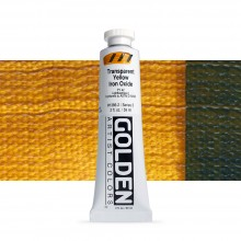 Golden : Heavy Body Acrylic Paint : 60ml : Trans Yellow Iron Oxide