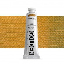 Golden : Heavy Body : Acrylic Paint : 60ml : Yellow Ochre
