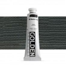 Golden : Heavy Body : Acrylic Paint : 60ml : Neutral Grey No.2