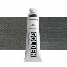 Golden : Heavy Body Acrylic Paint : 60ml : Neutral Grey No.3