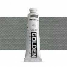Golden : Heavy Body Acrylic Paint : 60ml : Neutral Grey No.5