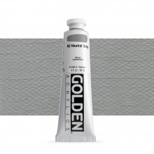 Golden : Heavy Body Acrylic Paint : 60ml : Neutral Grey No.6