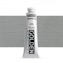 Golden : Heavy Body : Acrylic Paint : 60ml : Neutral Grey No.6