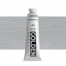 Golden : Heavy Body : Acrylic Paint : 60ml : Neutral Grey No.7