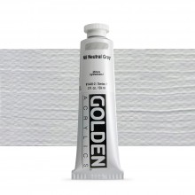 Golden : Heavy Body Acrylic Paint : 60ml : Neutral Grey No.8