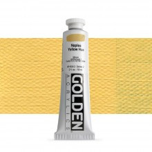 Golden : Heavy Body Acrylic Paint : 60ml : Naples Yellow Hue