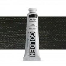 Golden : Heavy Body Acrylic Paint : 60ml : Van Dyke Brown Hue