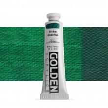 Golden : Heavy Body Acrylic Paint : 60ml : Viridian Green Hue