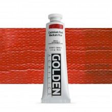 Golden : Heavy Body Acrylic Paint : 60ml : Cadmium Red Medium Hue
