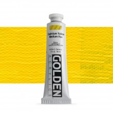 Golden : Heavy Body Acrylic Paint : 60ml : Cadmium Yellow Medium Hue