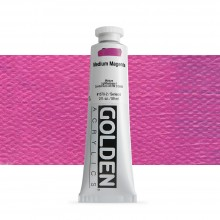 Golden : Heavy Body Acrylic Paint : 60ml : Medium Magenta