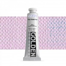 Golden : Heavy Body Acrylic Paint : 60ml : Titan Violet Pale I