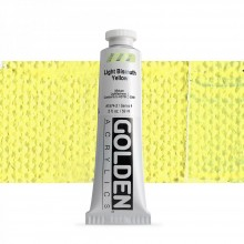 Golden : Heavy Body Acrylic Paint : 60ml : Light Bismuth Yellow IV