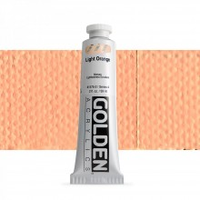 Golden : Heavy Body : Acrylic Paint : 60ml : Light Orange IV