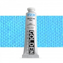 Golden : Heavy Body Acrylic Paint : 60ml : Light Phthalo Blue I