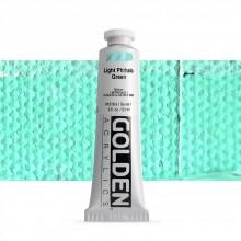 Golden : Heavy Body Acrylic Paint : 60ml : Light Phthalo Green I