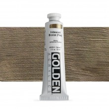 Golden : Heavy Body Acrylic Paint : 60ml : Bronze Fine Iridescent