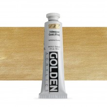 Golden : Heavy Body Acrylic Paint : 60ml : Gold Fine Iridescent