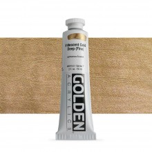 Golden : Heavy Body : Acrylic Paint : 60ml : Gold Deep Fine Iridescent