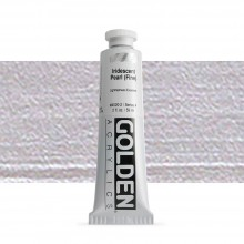 Golden : Heavy Body Acrylic Paint : 60ml : Pearl Fine Iridescent