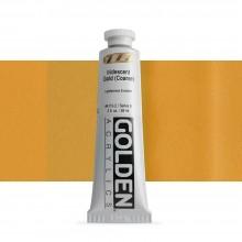Golden : Heavy Body : Acrylic Paint : 60ml : Gold Coarse Iridescent