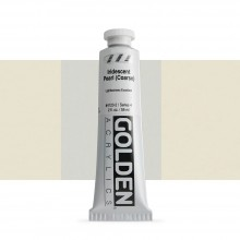 Golden : Heavy Body Acrylic Paint : 60ml : Pearl Coarse Iridescent