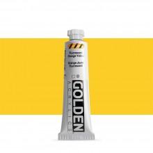Golden : Heavy Body : Acrylic Paint : 59ml : Fluorescent Orange Yellow