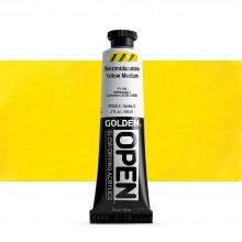 Golden : Open : Slow Drying Acrylic Paint : 59ml : Benzimidazolone Yellow Medium III