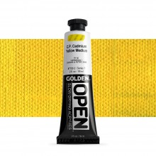 Golden : Open : Slow Drying Acrylic Paint : 59ml : C.P. Cadmium Yellow Medium VII