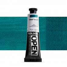 Golden : Open : Slow Drying Acrylic Paint : 59ml : Cobalt Turquois VIII