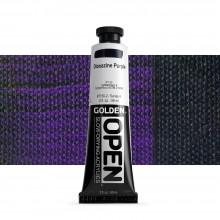 Golden : Open : Slow Drying Acrylic Paint : 59ml : Diox Purple VI