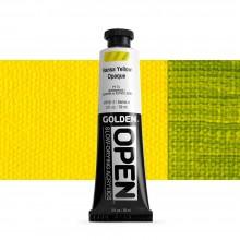 Golden : Open : Slow Drying Acrylic Paint : 59ml : Hansa Yellow Opaque IV