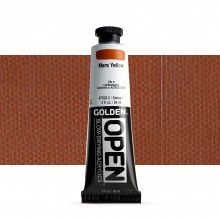 Golden : Open : Slow Drying Acrylic Paint : 59ml : Mars Yellow I