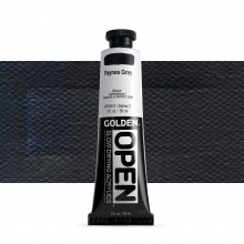 Golden : Open : Slow Drying Acrylic Paint : 59ml : Paynes Gray II