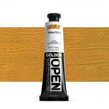 Golden : Open : Slow Drying Acrylic Paint : 59ml : Yell Ochre I